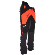 Arbortec Breatheflex Chainsaw Trousers Type A Orange & Black