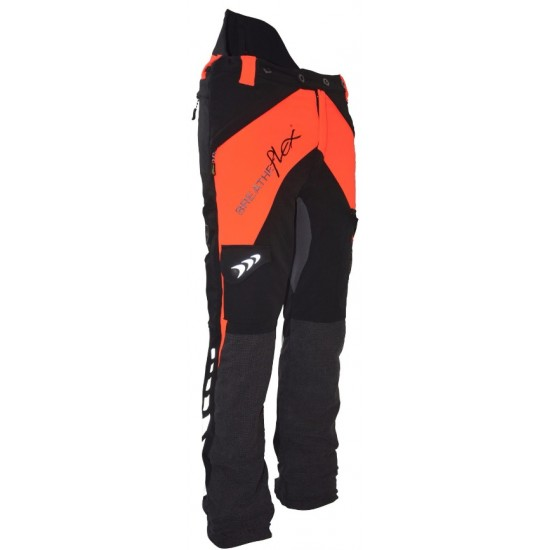 Arbortec Breatheflex Chainsaw Trousers Type C Orange & Black