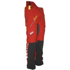 Arbortec Breatheflex Chainsaw Trousers Type C Red