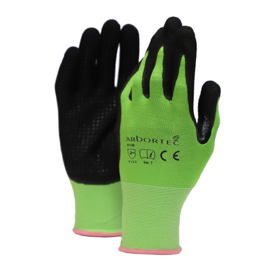 Arbortec AT150 Microfoam Nitrile Gloves