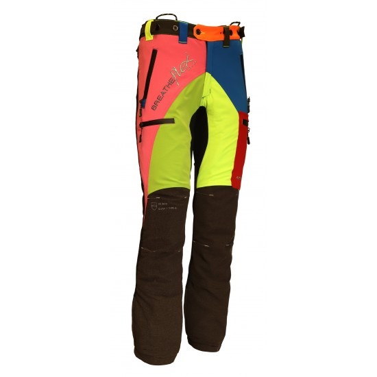 Arbortec Breatheflex Pro Multi Coloured Chainsaw Trousers