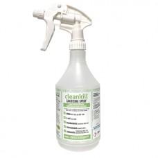 Empty Plastic Cleankill Spray Bottle