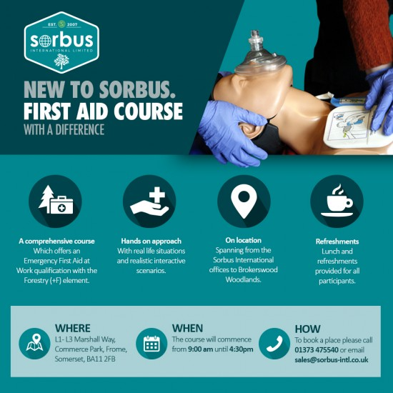 Arb Specific First Aid Course - Friday 26th January