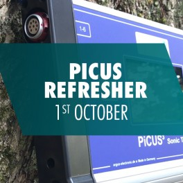 PICUS Refresher Course - Tuesday 1st October 2019