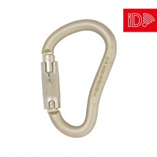 DMM 12mm Steel Boa HMS Locksafe - Light Gold - iD