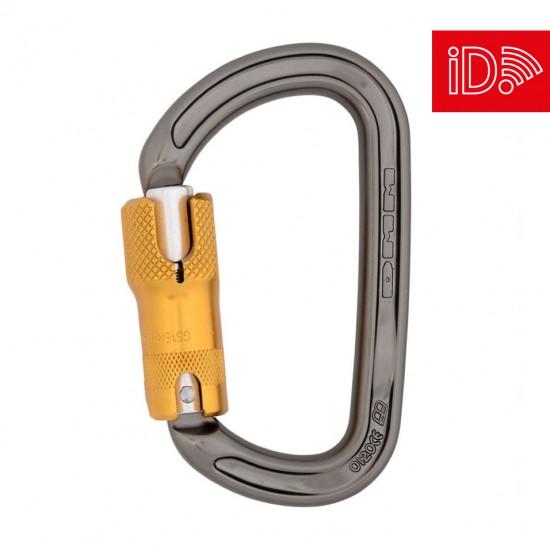 DMM Ultra D Locksafe ANSI - Titanium/Gold - iD