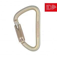 DMM Klettersteig Locksafe - Titanium/Gold - iD