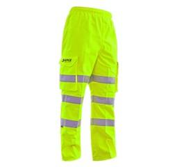 Harkie Waterproof Overtrousers - Hi Vis-Yellow