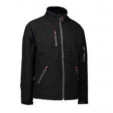 Men's ID soft shell jacket black