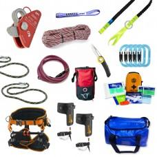 Basic Full Climbing Kit with Treehog Harness
