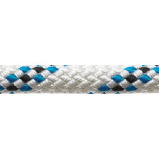 16mm Marlowbraid Per Metre Blue Fleck