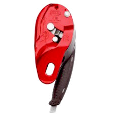 Petzl I'D L Descender Red - 12.5 - 13mm D200LO