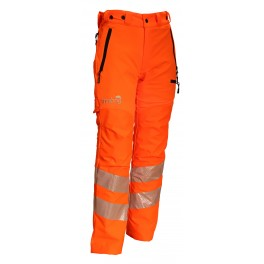 Treehog Hi-Vis Orange GO/RT Chainsaw Trouser Type C
