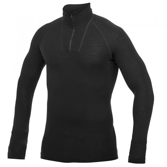 Woolpower LITE Zipped Turtleneck Base Layer