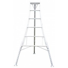 3 Leg Adjustable Tripod Ladder