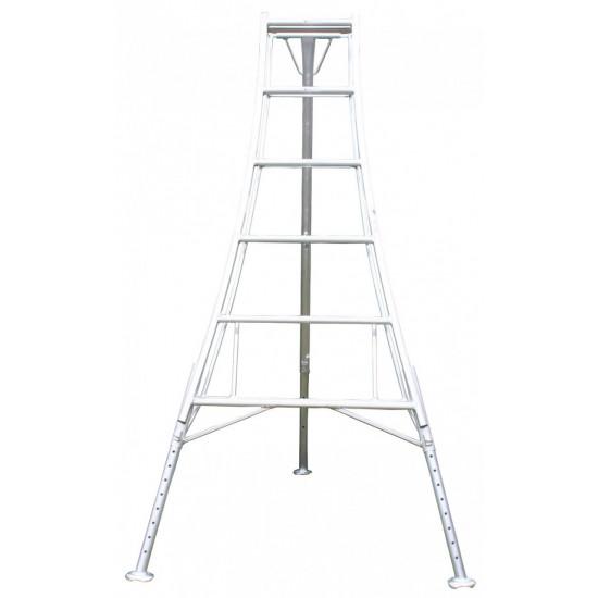 3 Leg Adjustable Tripod Ladder