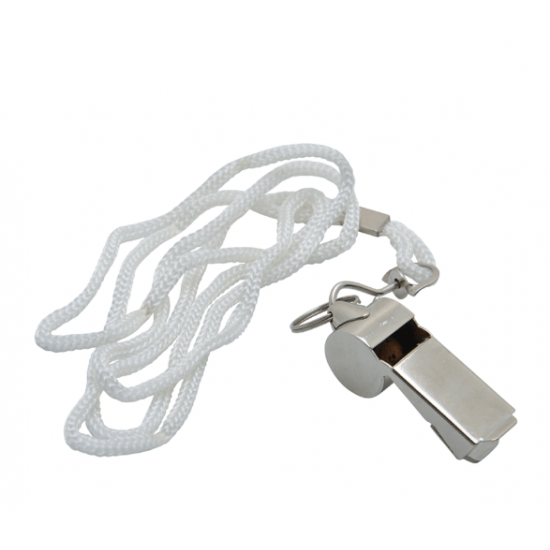 Emergency Aluminium Whistle with Key Chain