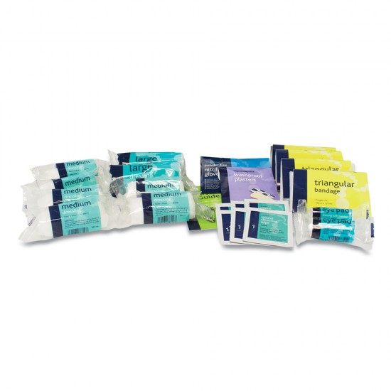 Refill for 10 Man First Aid Kit