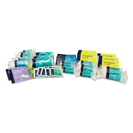 Refill for Large Squad 1-20 Man First Aid Kit