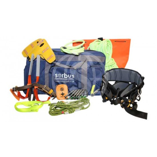 Climbing Kit with Petzl Sequoia