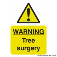 'Tree Surgery' Safety Sign