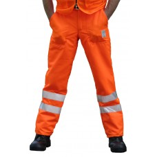 Arbortec (Type A) Hi Vis Orange Trousers