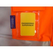 Engineering Supervisor ID Card