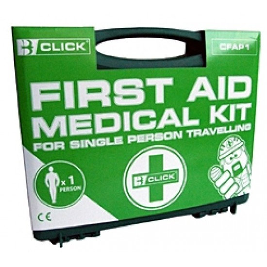 First Aid Medical Kit for single person travelling
