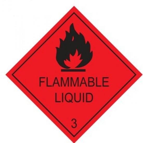 Flammable Liquid Diamonds 200mm x 200mm