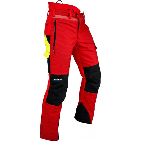 Ventilation Trousers Type C Red