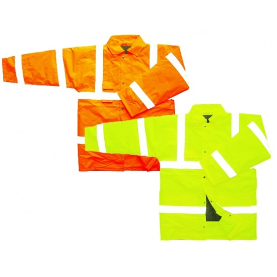 Hi Vis Flame Retardant Padded Jacket