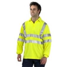 Hi Vis Flame Retardant Polo Shirt