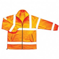 Hi Vis Orange Fleece Jacket Class 3