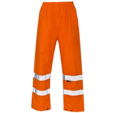 Hi Vis Orange Over Trousers - Breathable