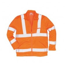 Hi Vis Orange Polycotton Jackets