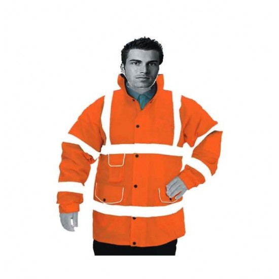Hi Vis Orange Superior Padded Jacket