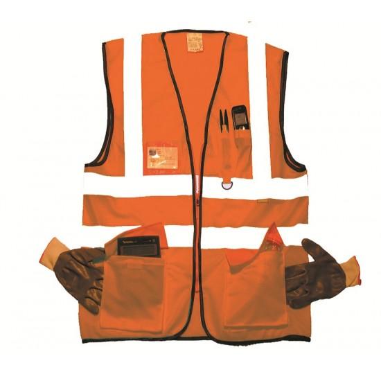 Hi Vis Orange Superior Waistcoat