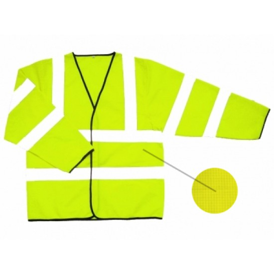 Hi Vis Yellow Flame Retardant Jacket