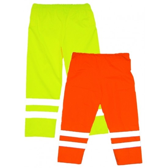 Hi Vis Yellow Flame Retardant Over Trousers