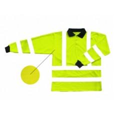 Hi Vis Yellow Flame Retardant Polo Shirt
