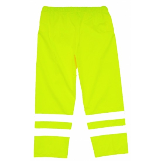 Hi Vis Yellow Over Trousers - Breathable