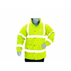 Hi Vis Yellow Superior Padded Jacket