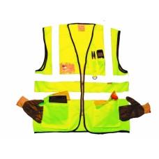 Hi Vis Yellow Superior Waistcoat