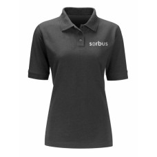 Ladies Sorbus Black Polo