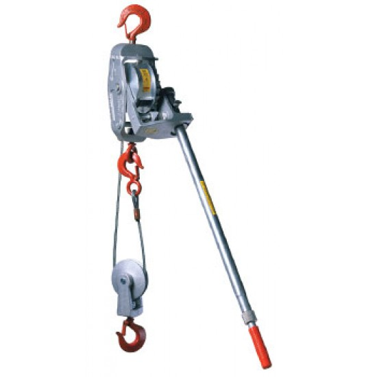 Lug-all Portable Winch Hoist 1800kg