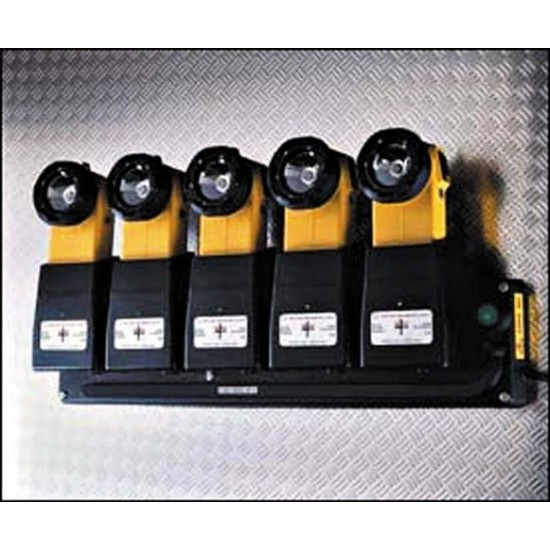 Multi-Charger for 4 Aspect Hand Lamp