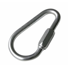 Pear Maillon Steel Connector - 10mm - PZ10