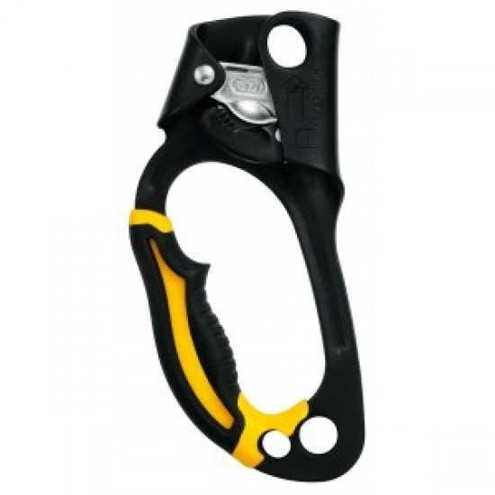 Petzl Ascender Left Handed Black/Yellow B17WLA
