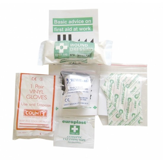 Re-fill for Personal First Aid Kit