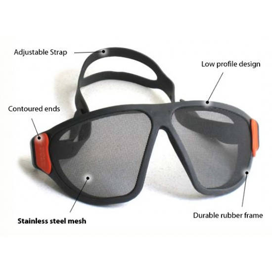 Safe Eye Mesh Goggles